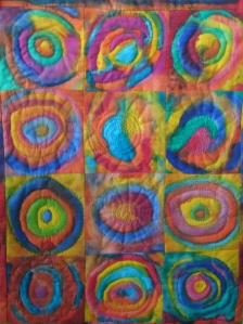 Hand Painted, Hand Quilted