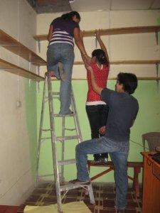 Shelving Instalation